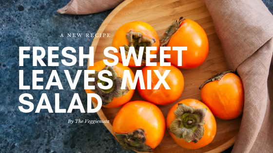 Fresh Sweet Leaves Mix Salad